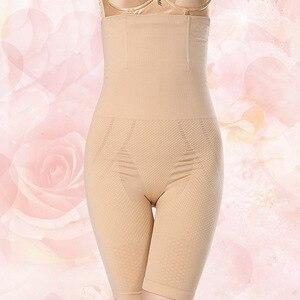 Image 5 - Culotte taille haute pour femmes, sous vêtement taille haute, Corset modelant le corps, amincissant le ventre, Corset modelant le corps