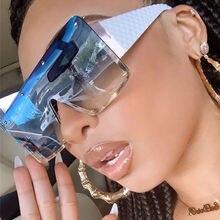 2020 модные квадратные солнцезащитные очки для женщин и мужчин