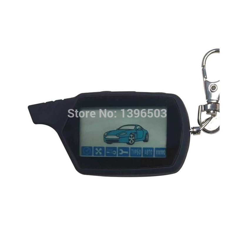 Key-Chain Engine-Starter Remote-Control Car-Anti-Theft-Alarm-System Starline A91 LCD
