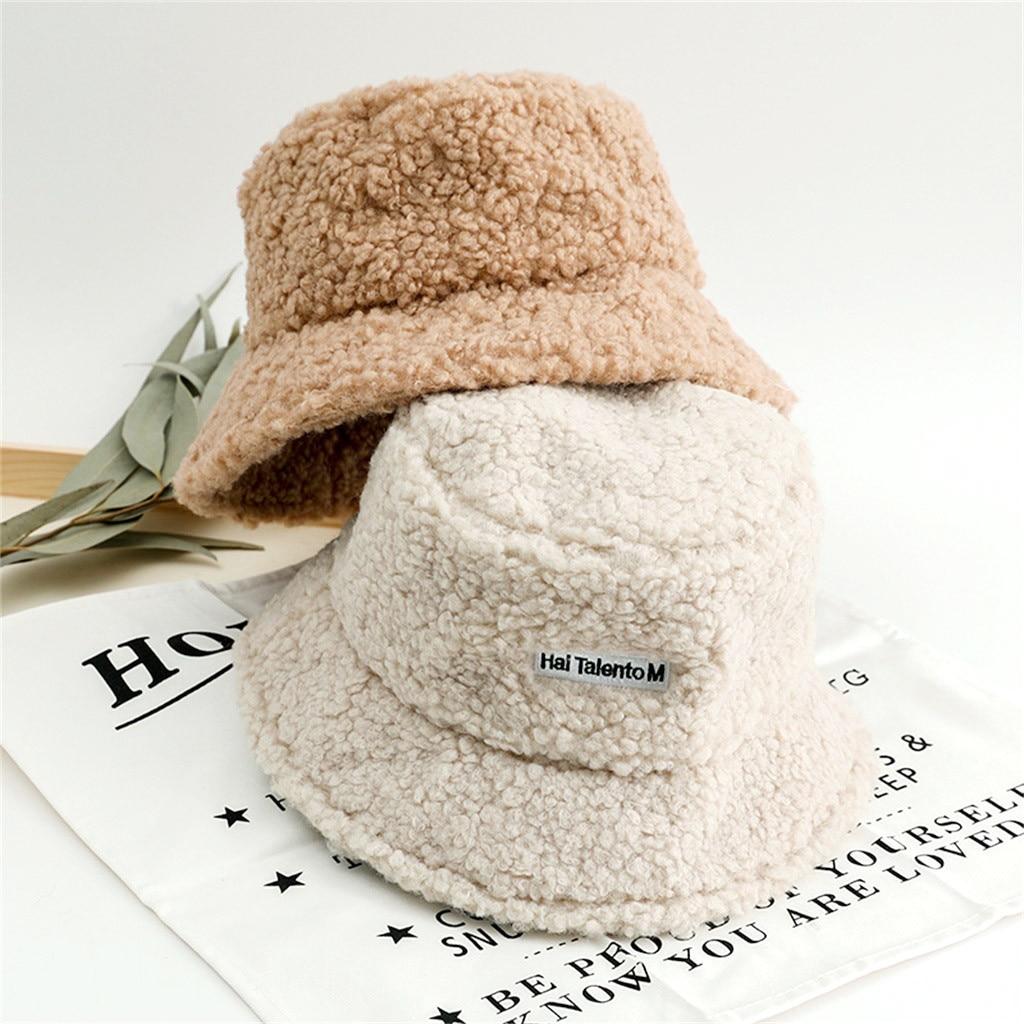 Женская зимняя Панама, милые и теплые шапки из искусственного меха, зимняя шапка ведро для женщин, шапка для охоты, рыбалки, czapka zimowa # CL3|Женские кепки летнии|   | АлиЭкспресс
