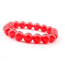 GVUSMIL  8mm White Howlite Tiger Eye Lava Crystal Natural Stone Beaded Bracelet For Women Men Gift Jewelry