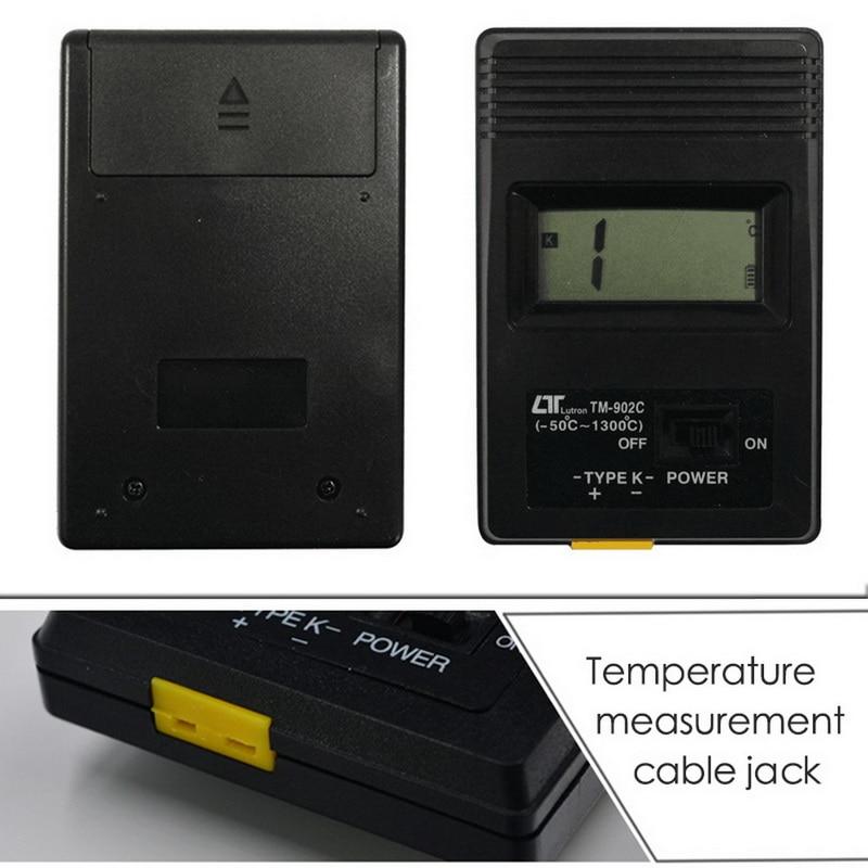 Tm902c (-50c a 1300c) medidor de temperatura