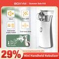 BOXYM Tragbare vernebler Mini Handheld inhalator vernebler für kinder Erwachsene Zerstäuber nebulizador medizinische ausrüstung Asthma