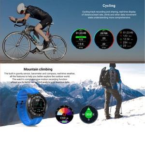 Image 5 - LEMFO חכם שעון GPS גברים M5S 2G עמיד למים IP67 לב קצב Tracker לחץ דם צג Bluetooth שיחות Smartwatch