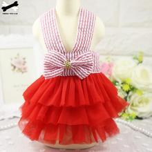Sweety Princess Dress Teddy Puppy Dress