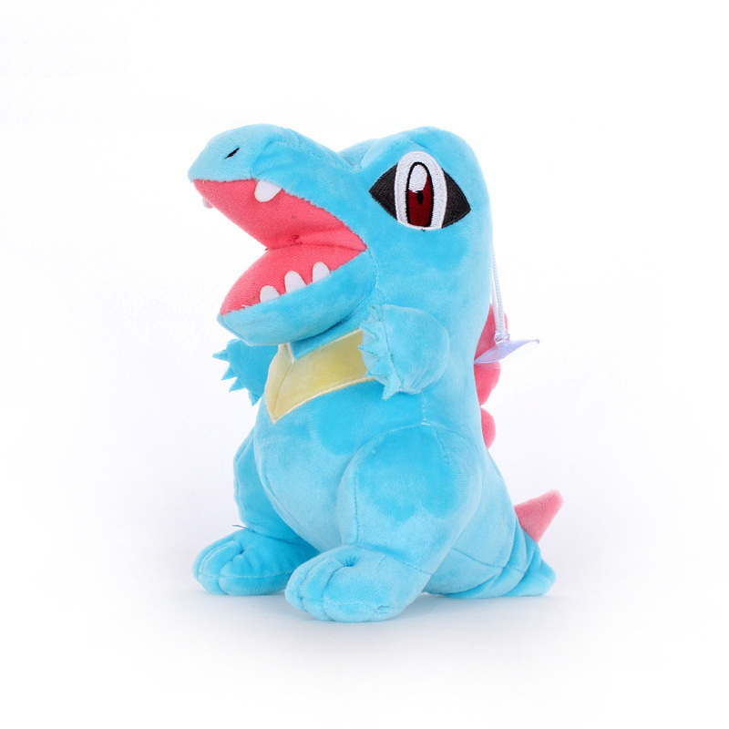 1pcs 22cm Totodile Plush Toys Doll Kawaii Totodile Plush Pendant Soft Stuffed Plush Toy For Children Kids