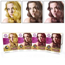 Pure Plants 25ml Hair Color Shampoo Only 15 Mins Dye For Woman