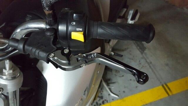Leviers de frein dembrayage pliants Kawasaki | Pour Kawasaki Z750 2007 2008 2009 2010 2012 CNC pliable extensible moto réglable en aluminium