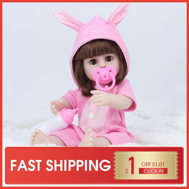 Julys canção 38cm cheio de silicone água potável xixi corpo reborn boneca do bebê brinquedo para a menina bebe banhar brinquedo da criança menina presente aniversário