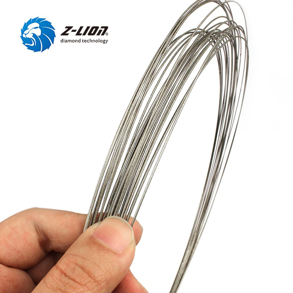 Z-LION D1mm Diamond Wire Saw Length 2m Electroplated Coping Saw Granite Marble Jewelry Wood Cutting Wire Multifunction Fret Saw