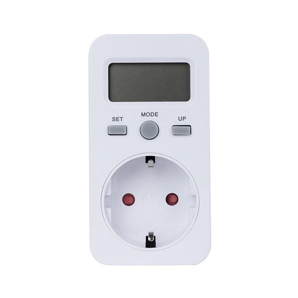 Новый KWE-PMB03 розетка цифровой измеритель напряжения Потребляемая мощность ватт счетчик энергии AC анализатор электроэнергии монитор