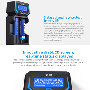 Image 3 - XTAR Extende X2 Fast Charger For 1.2V NI HM NI CD 3.6V 14500 26650 18650 Batteries Protected 21700 Batteies Battery Charger 2020