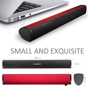 USB Laptop Speaker Portable/Computer Audio Mini Soundbar Subwoofer Bar Stick Music Player to PC Hot Sale Ikanoo Brand 6