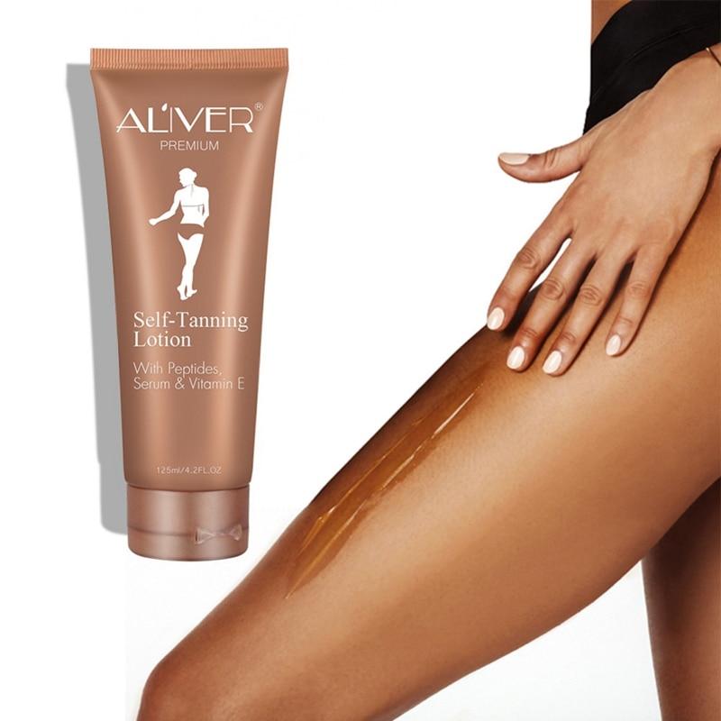 Self Sun Tan Tanning Suntan Cream Color Stay Bronze Enhance Day Tanning Cream Natural Bronzer Sunscreen Tanner Lotion 4