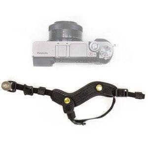 Image 3 - كاميرا قبضة اليد المعصم جلدية حزام لأوليمبوس OMD EM1 EM5 EM10 OM D E M1 E M5 E M10 مارك الثالث II 3 2 سوني A9 A7S A7R A7 III II