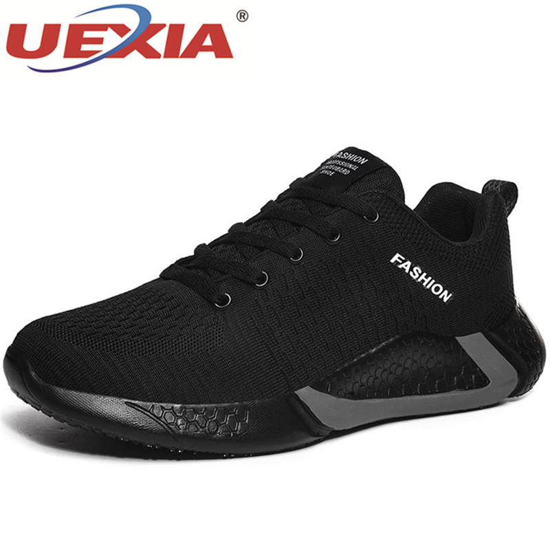 UEXIA 2020 Men's Shoes Fashion Casual Slip On Flats Loafers Male Driving Hollow Breathable Sneakers Outdoor Comfortable Footwear