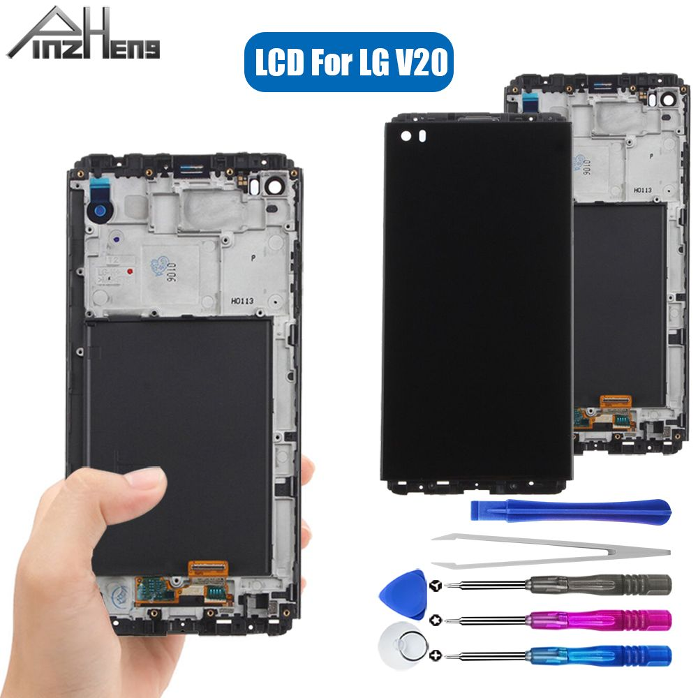 PINZHENG AAAA Quality LCD For <font><b>LG</b></font> <font><b>V20</b></font> VS995 VS996 LS997 LCD <font><b>Display</b></font> Touch Screen Digitizer For <font><b>LG</b></font> <font><b>V20</b></font> <font><b>Display</b></font> LCD Replacement image