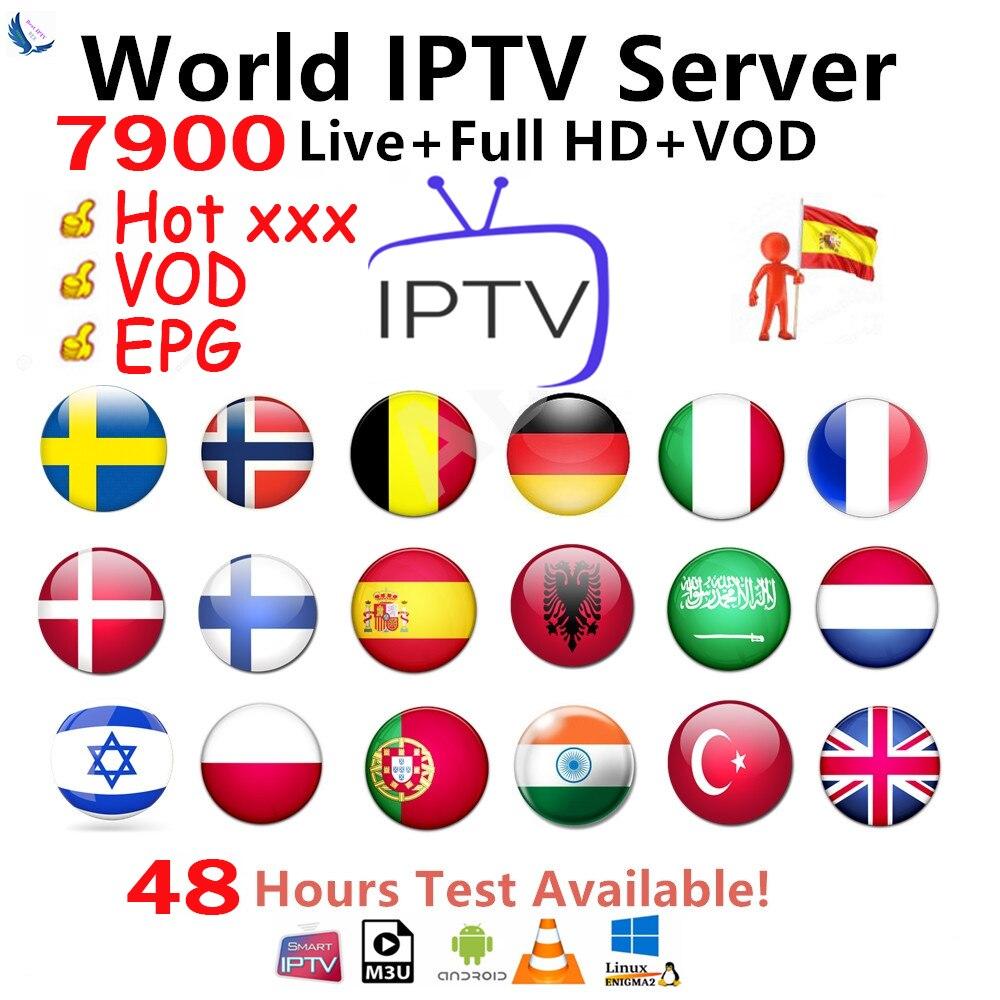 Best Stable IPTV Spain M3U Francais IPTV Portugal Subscription 1 Year IPTV M3U France Free VOD For Smart TV Android TV Box