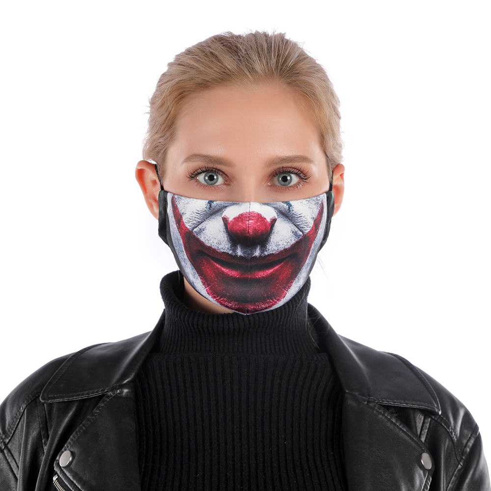 Image 2 - Fashion Reusable Protective PM2.5 Filter Printing mouth Mask anti  dust Face mask Windproof Mouth muffle bacteria proof Flu Mask  -
