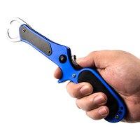 Fishing Grip Grabber 11 Inch Aluminum Alloy Fish Gripper Pliers Fishing Lip Grip Grabber Clamp Tool Carp Fishing Accessories