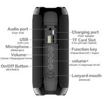fm tf New TG117 Bluetooth Outdoor Speaker Portable Wireless Speaker Waterproof Loudspeaker Support TF Card USB FM Radio Music Player (5)