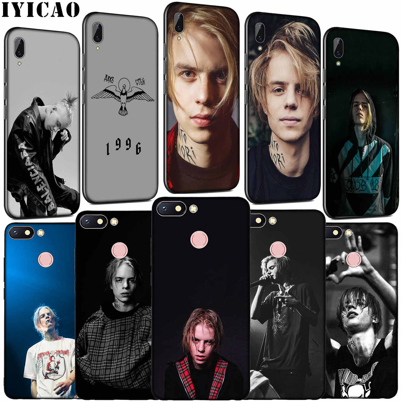 IYICAO Russia rapper Pharaoh Hot singer Soft Silicone Phone Case for Xiaomi Redmi K20 GO 8A 7A 6A 5A 4A 4X Note 8 7 6 Pro 5 Plus
