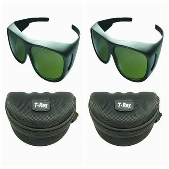 2pcs IPL 200nm-2000nm Laser Protection Goggles UV Safety Glasses CE OD5+ CE laser safety glasses 600 1100nm o d 6 ce certified