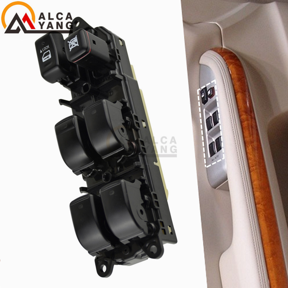 Power Window Switch 84040 60051 8404060051 For Toyota Land Cruiser Prado 2002 2010 Car Switches & Relays     - title=