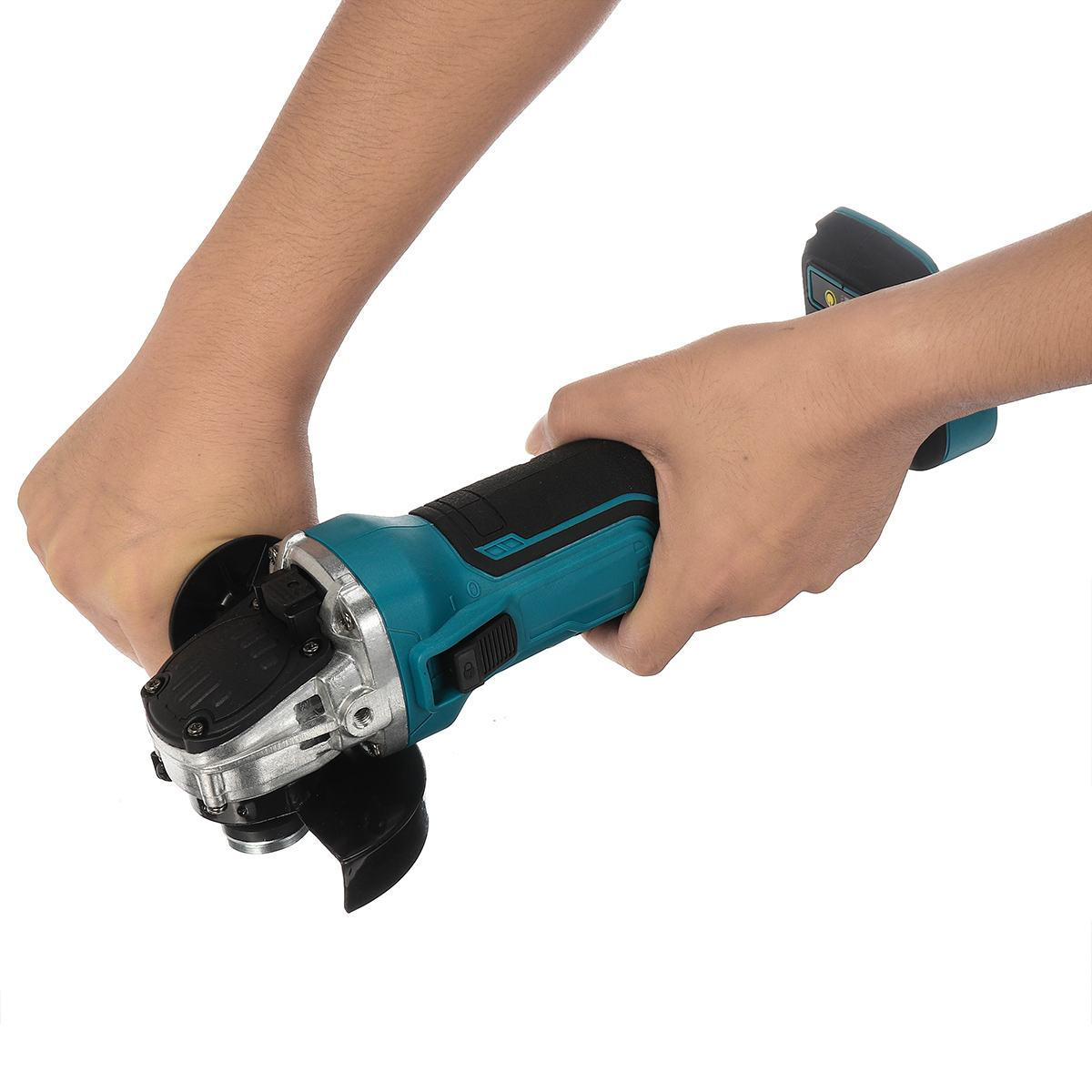 Tools : 18V 125 100mm Brushless Cordless Impact Angle Grinder Variable Speed For Makita Battery DIY Power Tool Cutting Machine Polisher