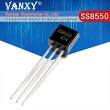 100 Uds. SS8550 TO 92 8550 TO92 nuevo transistor triodo