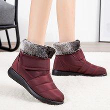 Зимние ботинки для женщин черная зимняя обувь женские мягкие