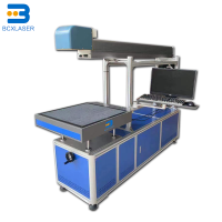 CO2 laser marking machine widely used in food pharmaceutical electronic components and PVC pipe industries