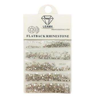 LEMAX Mixed/bag High light AAA Rhinestone Crystal AB SS4-SS10 Non Hotfix Flatback Rhinestones For Nails 3D Nail Art Gems L531 new 1340pcs pack mixed ss4 ss16 nail rhinestones crystal colorful ab nail art decorations non hot fix flatback glass stone gems
