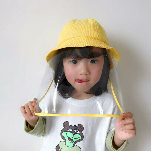 Anti Flu Protection Hat +Mask Protective Anti-spitting Anti Dust Hat Face Cover Outdoor Fisherman for Kids Adult Windproof Cap 3