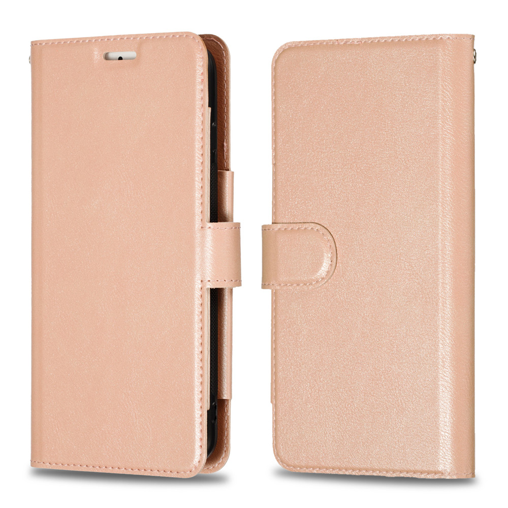 Retro PU Leather Case iPhone 7 6 6S 8 Plus Case iPhone X XS Max XR Case Cover Detachable 2 in 1 Multi Card Wallet Phone cases14