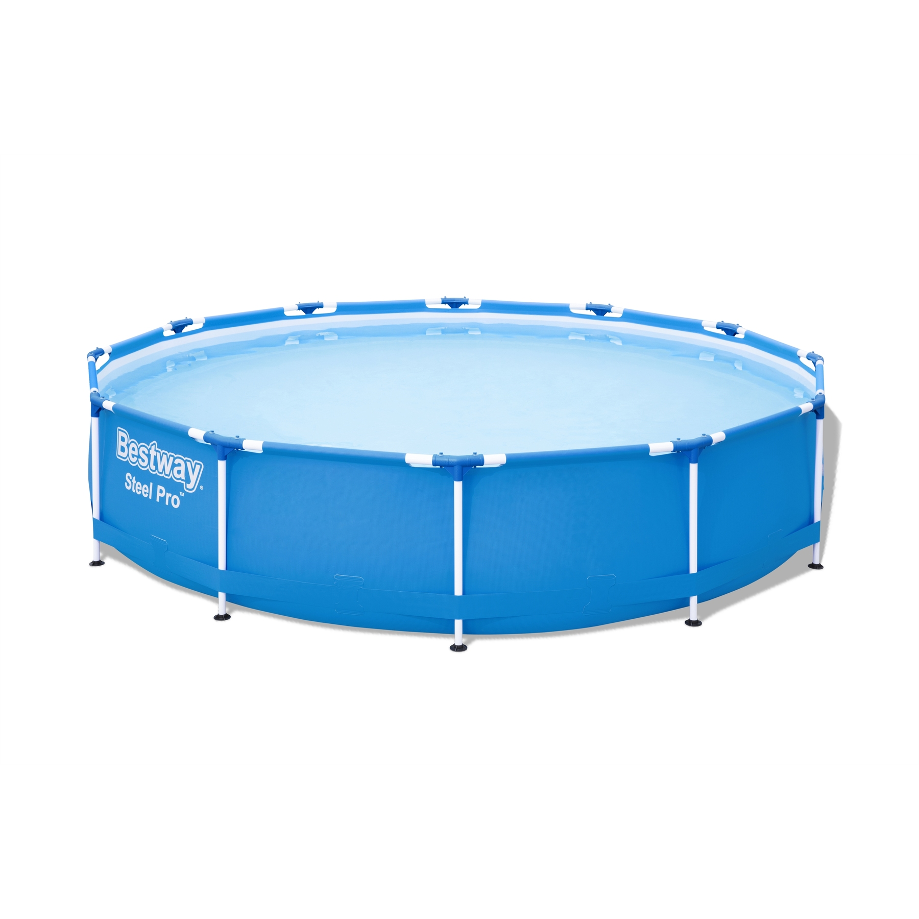 Scaffold Round Pool Bestway, Size 366x76 Cm, Outdoor Swimming Pool, Summer, For Garden, Summer, Leisure, Item No. 56706