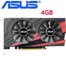 ASUS ekran kartı orijinal GTX 1050 Ti 4GB 128Bit GDDR5 grafik kartları nVIDIA VGA kartları Geforce GTX 1050ti hdmi Dvi oyunu