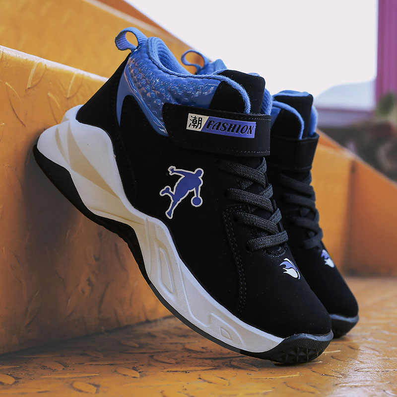 Neue Hohe Qualität Top Weiche Nicht-rutsch Kinder Turnschuhe Dicke Sohle Jungen Basketball Schuhe Kinder Sport Schuhe Außen Boy jordan Schuhe