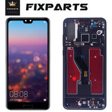 "TFT Huawei P20 Pro LCD Display Touch Screen Digitizer Assembly CLT-AL01 P20 Pro Display 6.1"" For Huawei P20 Plus Screen Replace(China)"
