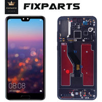 TFT LCD Display With frame for Huawei P20 Pro Touch Screen Digitizer Assembly 6.1 CLT AL01 Huawei P20 Pro Screen P20 Plus LCD