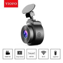 Cámara de salpicadero DVR con WiFi para coche, grabadora de vídeo Full HD 1080P, Mini cámara Sony con Sensor de 160 grados, aplicación de Control dvrs
