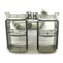 1pair Stainless Steel Ladder for 1/14 Tamiya VOLVO 56360 FH16 6X4 TIMBER Globetrotter 750 RC Truck Tractor Accessories