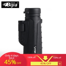 BIJIA 10x42 High Quality Monocular Vision Telescope for Hunting High Power Monocular with BaK4 Prism bijia 10x42 monocular telescope fully coated optics mini monocular hunting concert spotting scope
