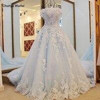 LS98850 New Short Sleeve Organza Prom Dresses Blue Long Pageant Dress Vestidos De Fiesta A line Dress for 15 Years cheap dresses