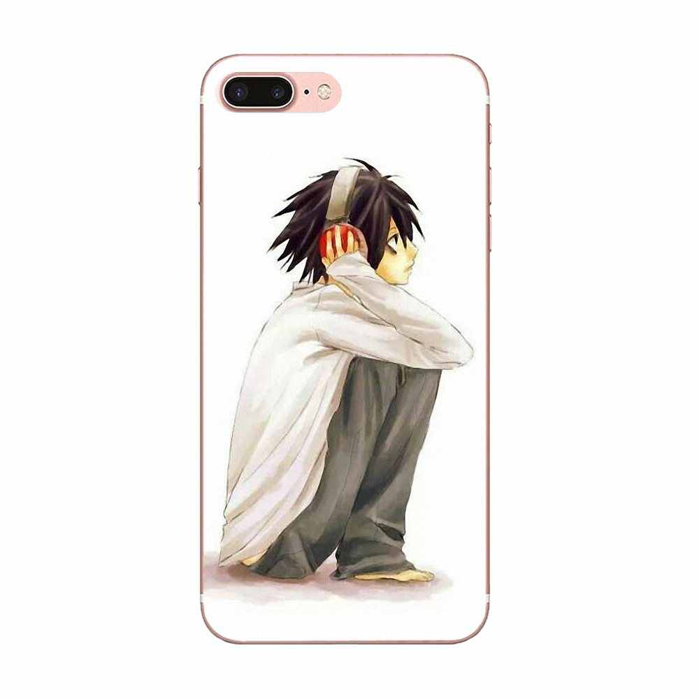 Huawei Honor para Nova Nota 5 5I 8A 8X10 Pro 9X Para Moto G G2 G3 G4 G5 g6 G7 Além Disso TPU Top Venda Anime Mangá Death Note