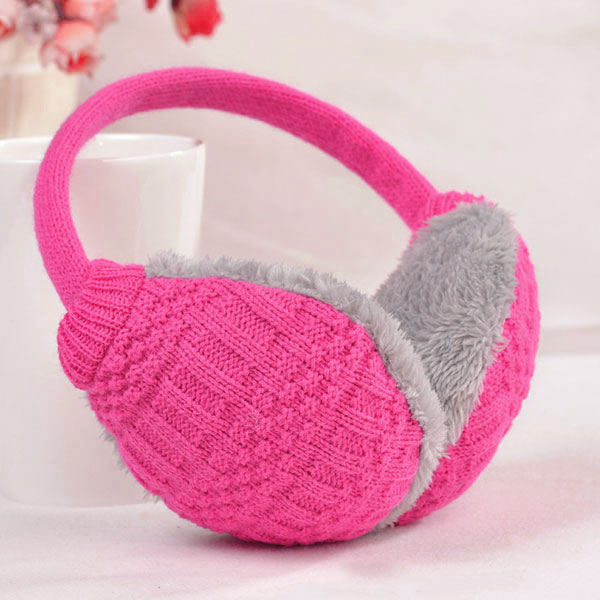 Fashion New Winter Warm Knitted Earmuffs Ear Warmers Women Girls Ear Muffs Earlap Warmer Headband TH36