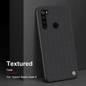 Image 1 - Прочная нескользящая тонкая и легкая задняя крышка NILLKIN для Xiaomi Redmi Note 8 Pro, текстурированное нейлоновое волокно