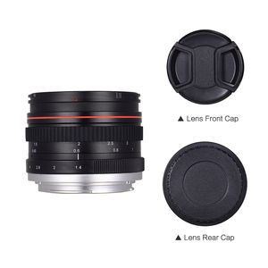Image 3 - 50mm f/1.4 מצלמה עדשת USM גדול צמצם סטנדרטי האנשה פוקוס מצלמה עדשת פיזור נמוך עבור Canon 100D 200D 350D