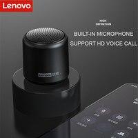 Original Lenovo L01 Bluetooth Speaker Portable Outdoor Loudspeaker Wireless Mini Column 3D Stereo Music Surround Bass Box Mic 2