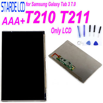 Starde LCD For Samsung Galaxy Tab 3 7.0 T210 T211 SM-T210 SM-T211 T2105 LCD Display Panel Screen Monitor Module 100% Test factory quality ips lcd display 7 85 for supra m847g internal lcd screen monitor panel 1024x768 replacement